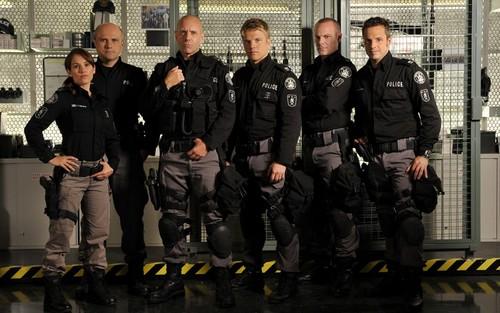 Flashpoint Hintergrund - Cast