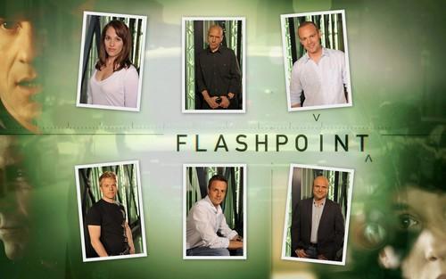 Flashpoint wallpaper - Cast