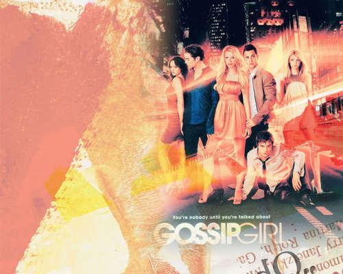 Gossip Girl Hintergrund titled GG <3