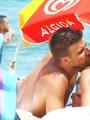 Gerard Pique & Nuria Thomas (his girlfriend) in Greece