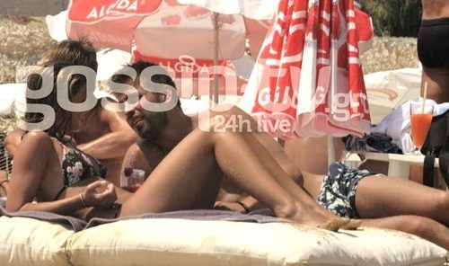Gerard Pique & Nuria Thomas (his girlfriend) in Greece - gerard-pique Photo