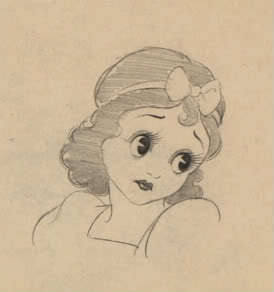 Grim Natwick's Snow White ( Who looks Simuler To Betty Boop)