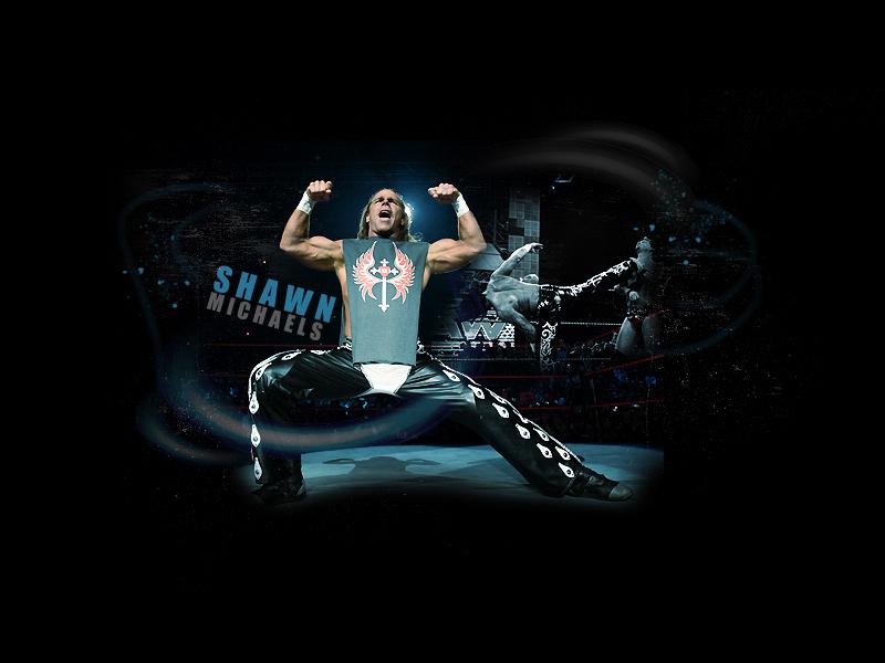 HBK - Shawn Michaels Wallpaper - 226.2KB