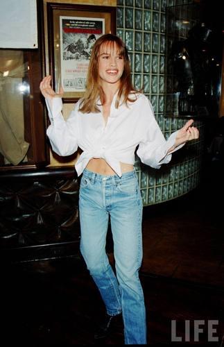 Hilary Swank in 1993