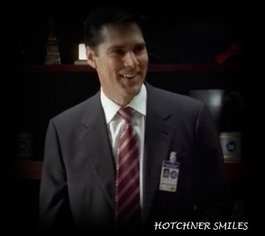 SSA Aaron Hotchner wallpaper entitled Hotch smiles