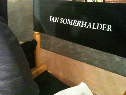 Ian's chair