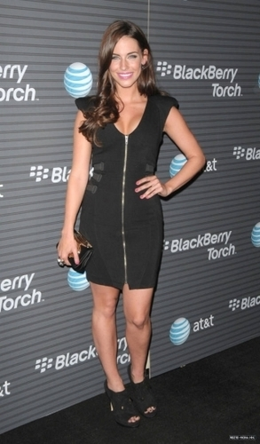 Jessica @ blackberry Torch Launch Party