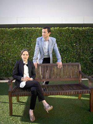 Joseph with Ellen Page