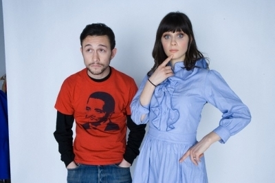 Joseph with Zooey Deschanel - joseph-gordon-levitt Photo