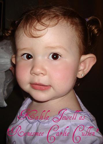 Kalila as Renesmee Cullen