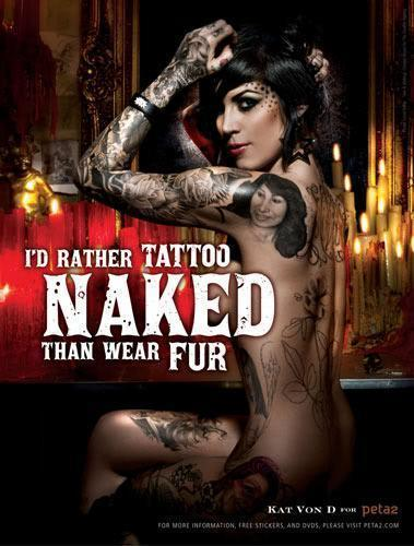 Kat Von D - tattoos Photo