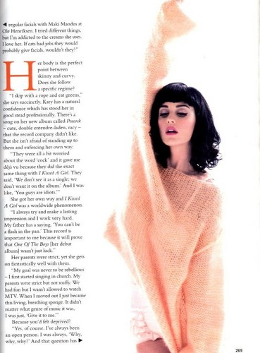 Katy Perry Glamour Magazine Scans