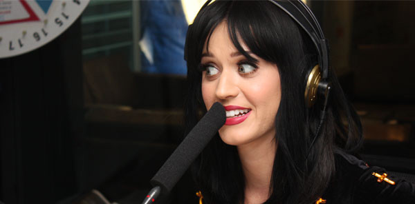 Katy Perry at 2Day FM Radio