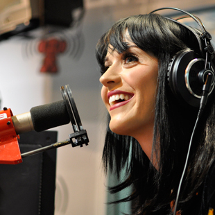 Katy Perry at NovaFM Radio