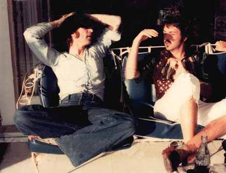 Last photo of John and Paul
