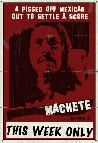 Machete wallpaper entitled Machete Poster