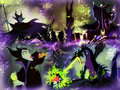 Maleficent - disney-villains wallpaper