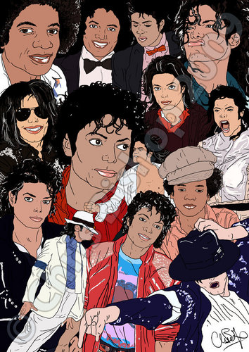 Michael Jackson wallpaper called Michael Jackson Cartoon:D