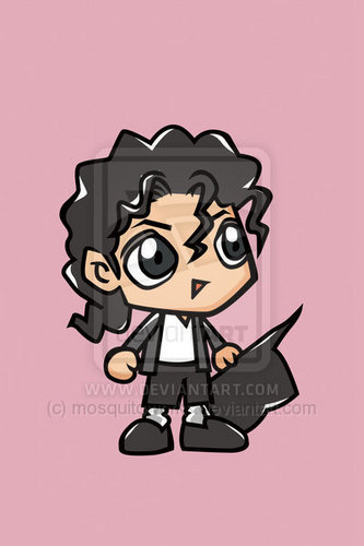 Michael Jackson Cartoon:D