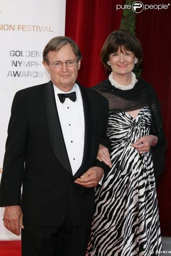 David Mccallum images Monte Carlo, with his wife Katherine Carpenter HD wallpaper and background photos