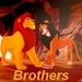 Mufasa and Scar-Brothers