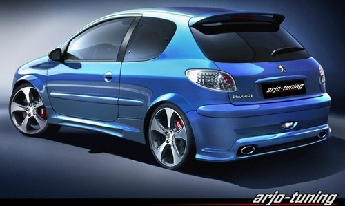 PEUGEOT images PEUGEOT 206 TUNING wallpaper and background photos