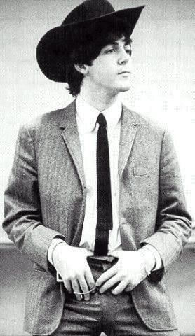Paul's cowboy hat.
