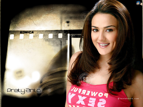 Preity Zinta Wallpaper Titled