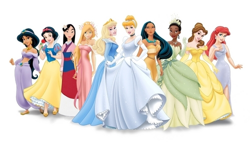 disney princesas imagens Princess Lineup with GISELLE! HD wallpaper