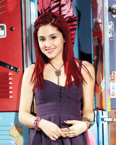 Cat Valentine wallpaper titled Red Velvet Cupcake hair