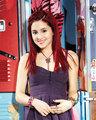 Red Velvet cupcake hair