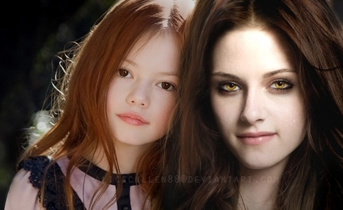 Renesmee and Bella