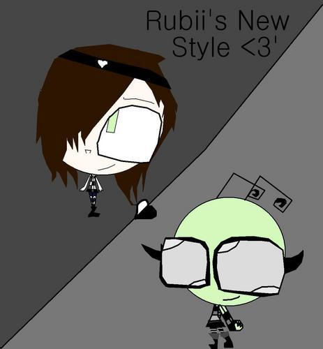 Rubii's Newest Style <3'