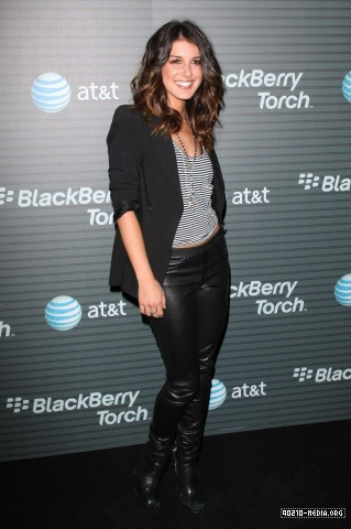 Shenae @ blackberry Torch Launch Party