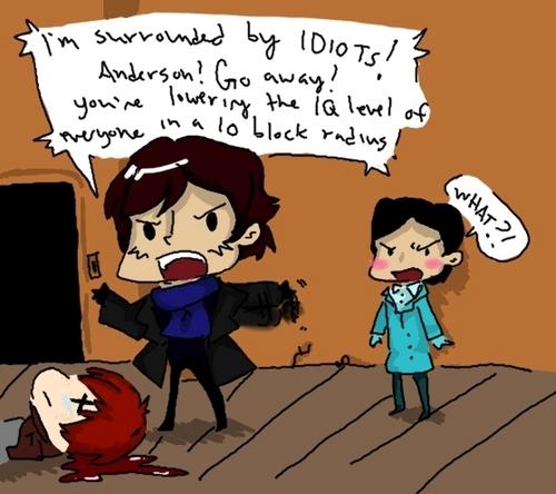 Sherlock chibi xD