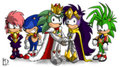 Sonic Family - manic-the-hedgehog photo