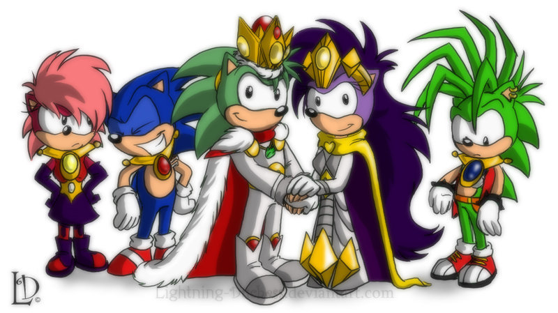 Sonic Family - Manic the Hedgehog Photo (14638969) - Fanpop
