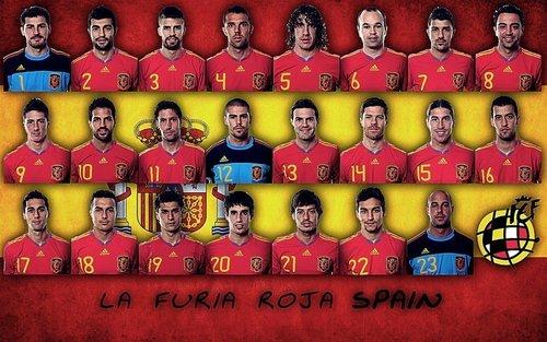 SpainPlayers