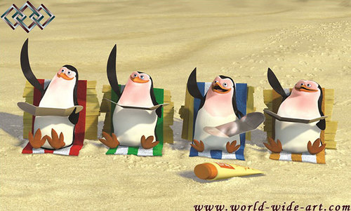 Taned Penguins