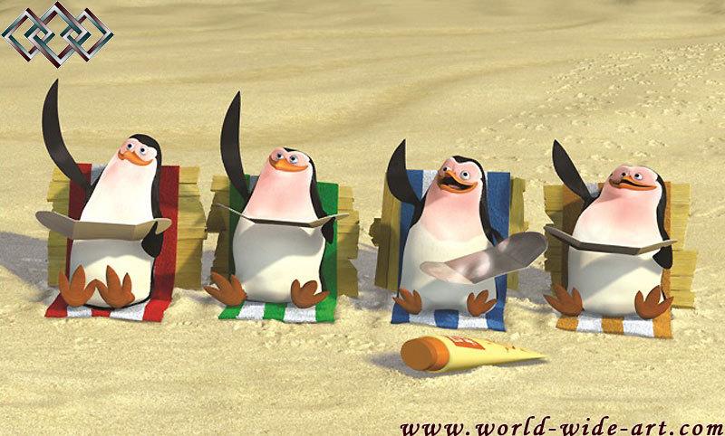 Taned Penguins - Les Pingouins de Madagascar photo (14640858