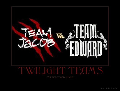 Team Edwarard vs Jacob