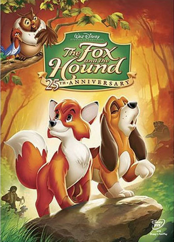 disney animais wallpaper called The foxz and the hound