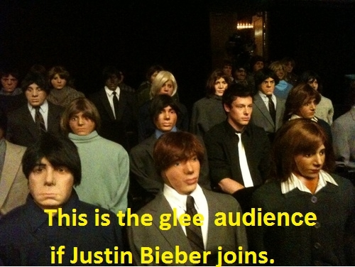 This is what happens if JB joins glee/グリー