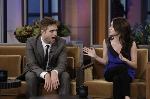 Untagged Stills of Rob on Leno