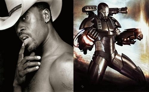 War Machine/ Hot James Rhodey