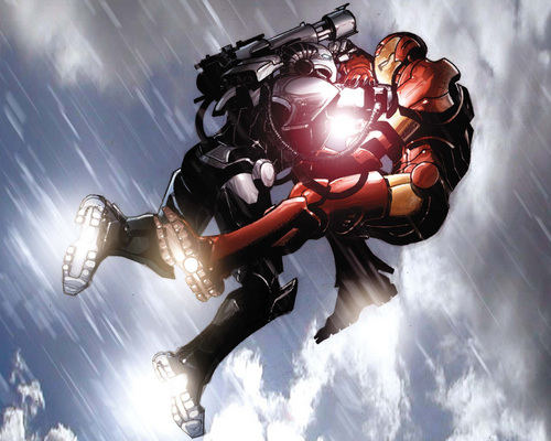 War Machine vs. Iron Man