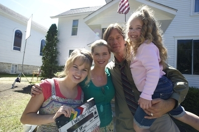 What If(2010)>On The Set
