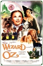 Wizard of Oz Limited Edition Poster autographed par 2 munchkins