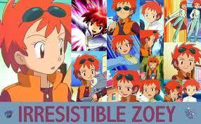 Pokemon Ash and Zoey