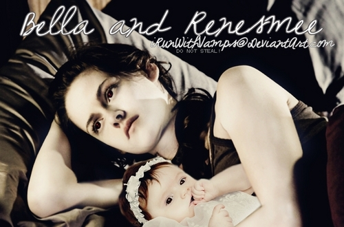 baby Renesmee with her Momma